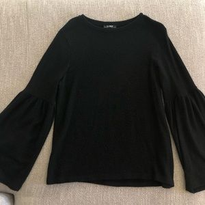 Zara Trafaluc Black Sweater - Size M